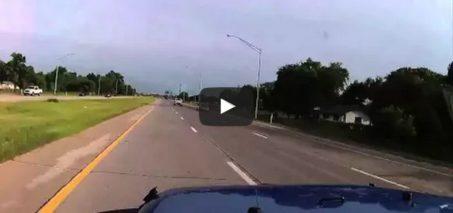 Stolen Jeep Dash Cam – High Speed Chase & Crash