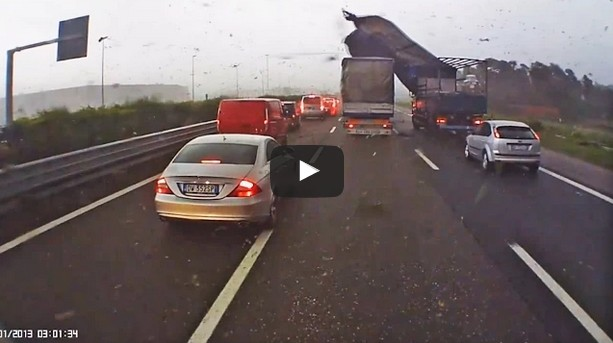 Tornado On The Road