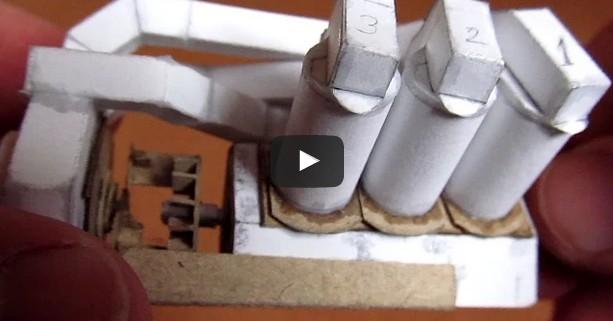 V6 engine working paper model