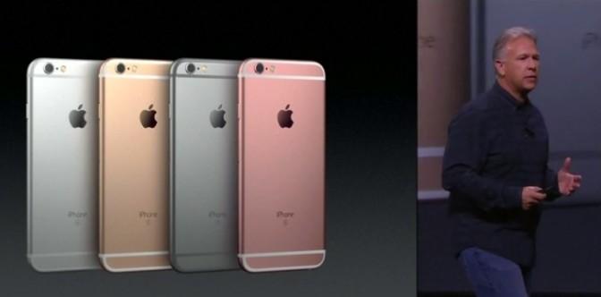 Apple unveils iPhone 6S, 6S Plus