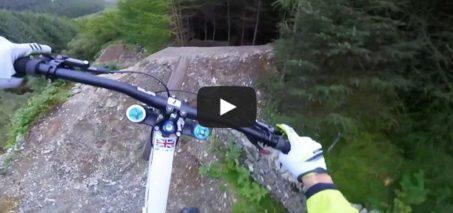 Gee Atherton Tests INSANE MTB Trail – Red Bull Hardline