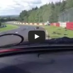 Huge Renault Megan crash at the Ring (Nurburgring nordschleife)