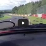 Huge Renault Megan crash at the Ring (Nurburgring nordschleife)