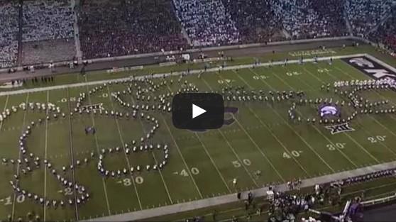 Kansas State Marching Band Doing What???