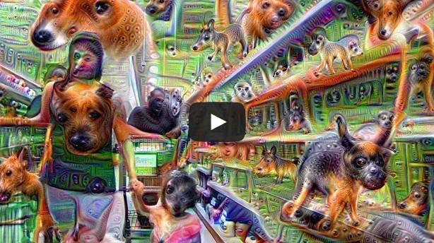 Pouff Grocery Trip Google Deep Dream