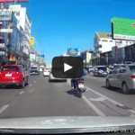 Shooting star seen on 7-Sep-2015 – Dashcam in Thailand captures meteorite