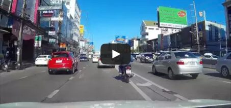 Shooting star seen on 7-Sep-2015 – Dashcam in Thailand captures meteorite