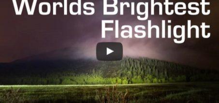 1000W LED Flashlight – Worlds Brightest (90,000 Lumens)