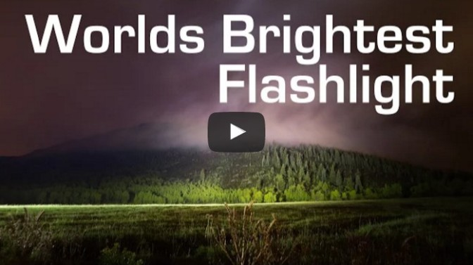 1000W LED Flashlight - Worlds Brightest