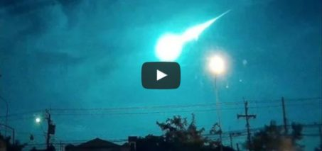 'Fireball meteor' lights up Thailand skies 2 Nov 2015
