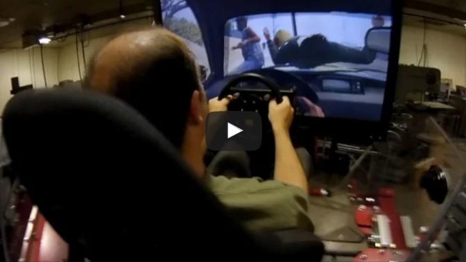GTA V on the Force Dynamics 401cr motion platform