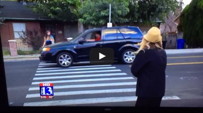 Local News Tries to Fake a caught-on-camera Incident
