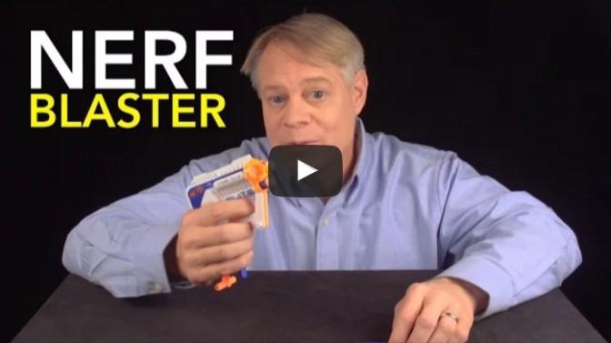 NERF Blaster: Air Restriction Mechanism