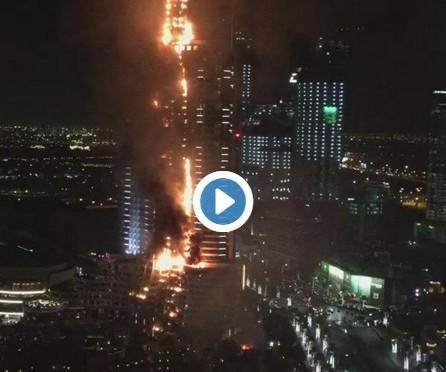 Address Hotel fire