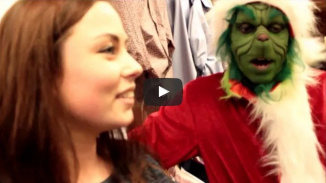 Awesome Grinch Impression - Stealing Christmas In Whitehaven