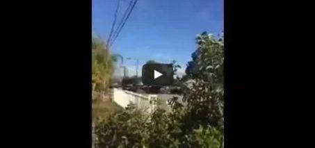 Crazy vid of shooting in San Bernardino