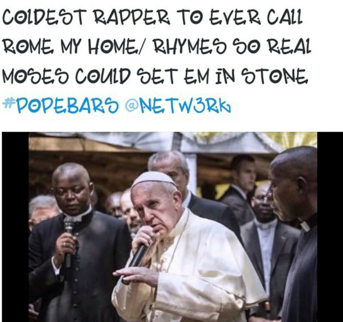coldest rapper to ever call rome my home rhymes so real moses could set em in stone