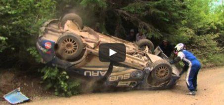 Patrick Richard/Alan Ockwell Crash at Baie Des Chaleurs 2010
