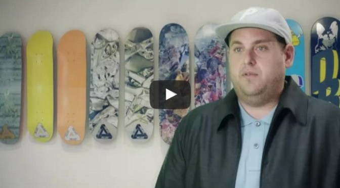 Jonah Hill for Palace x Reebok Collaboration