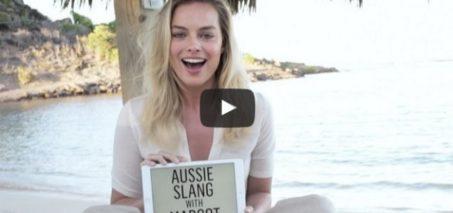 Margot Robbie Defines 50 Australian Slang Terms in Under 4 Minutes   Vanity Fair