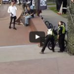 Bmx rider got important lesson from security guard