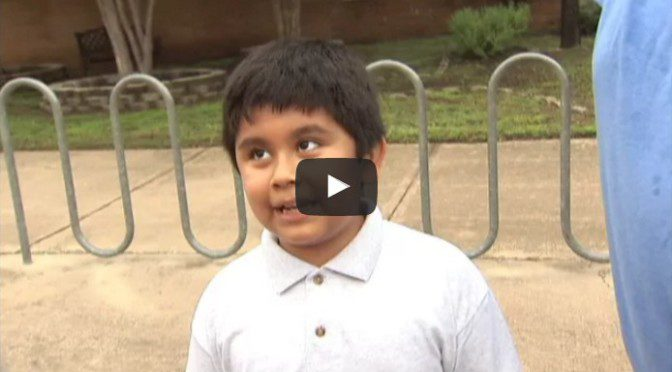 Excited 4th Grader Talks to FOX 7 On First Day Of School