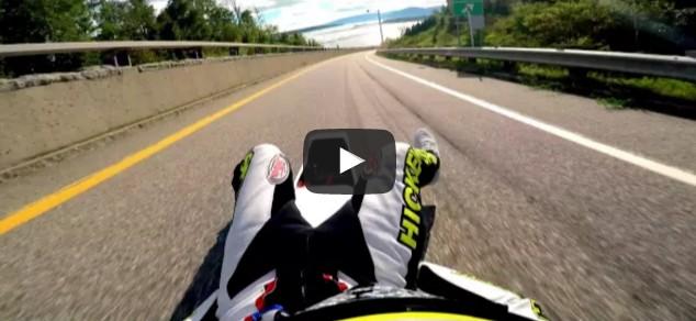 100 mph street luge