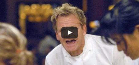 How much is in the bin? Gordon Ramsay can't believe his eyes