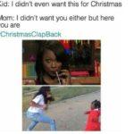 20 #ChristmasClapback Memes