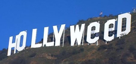 Prankster Changes the Hollywood Sign to Hollyweed