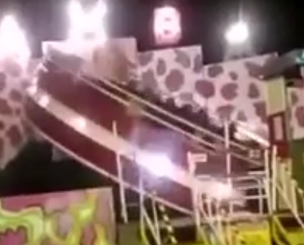 Extreme ride at the fair