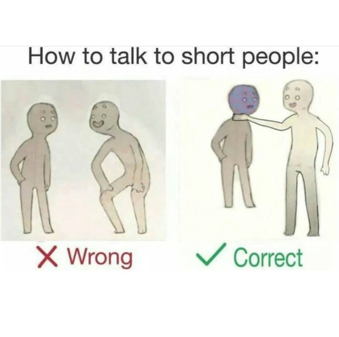 how to talk to short people chokehold blue face choking