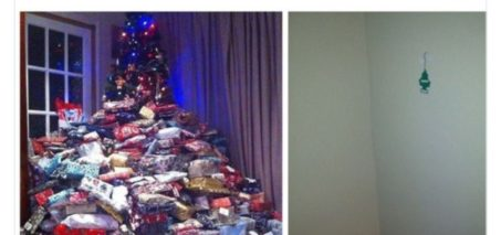 Christmas when you were 7 years old vs Christmas Now