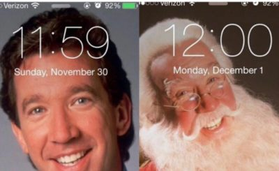 when someone asks if i'm ready for the holidays tim allen santa claus